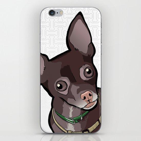 Taco T. Man (Chihuahua) iPhone & iPod Skin