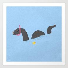 Accidental Legends: Loch Ness Art Print