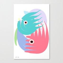 I Got A Fishtank Canvas Print