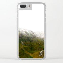 Glen Coe 2 Clear iPhone Case
