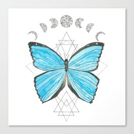 Geo Butterly Canvas Print