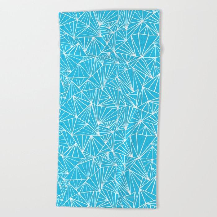 Ab Fan Electric Repeat Beach Towel