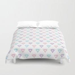 Colourful Diamond Pattern Duvet Cover