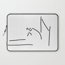 pole vault athletics Laptop Sleeve