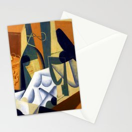 Juan Gris White Tablecloth Stationery Cards