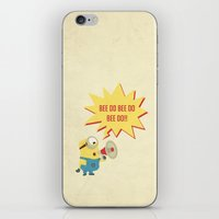 minion iPhone & iPod Skins featuring minion by Dripdrop