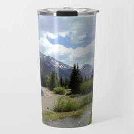 Following the Upper Animas River on the Alpine Loop toward Silverton Travel Mug