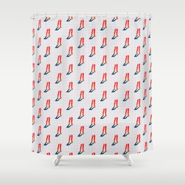 Doll Parts Shower Curtain
