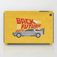 mcfly iPad Cases featuring The future is coming by Beardy Graphics
