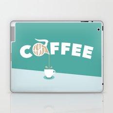 Coffee Pot Head Laptop & iPad Skin