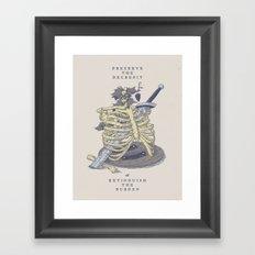 Preserve the Decrepit Framed Art Print
