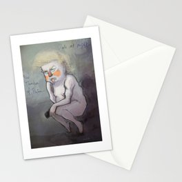 Trump at Night Stationery Cards