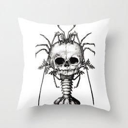Curiosities - The Fontanelle. Throw Pillow