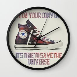 Save The Universe Wall Clock