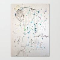 fairy tale Canvas Prints featuring Fairy Tale by KSKS