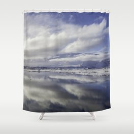Jokulsarlon Lagoon Beach 13  Shower Curtain