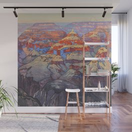 Grand Canyon Hiroshi Yoshida Vintage Japanese Woodblock Print Wall Mural