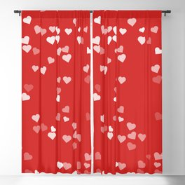 Hearts for Love Blackout Curtain