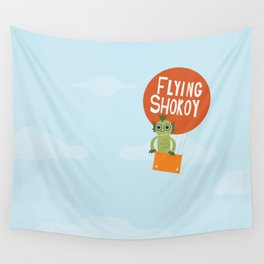 Flying Shokoy (Philippine Mythological Creatures Series) Wall Tapestry