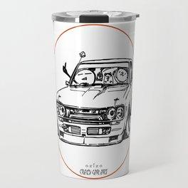 Crazy Car Art 0009 Travel Mug