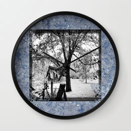 Winter Beginnings Wall Clock