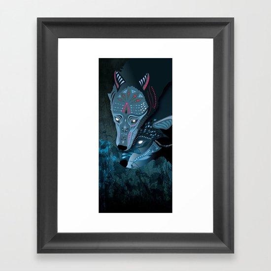 I am neither walker nor sleeper Framed Art Print