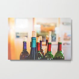 Wine Not Metal Print