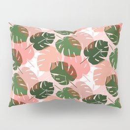 MCM Tiki Palm Pillow Sham