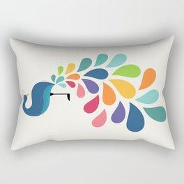 Dreamy Petal Rectangular Pillow