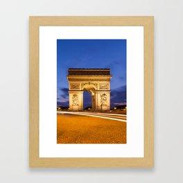 PARIS Arc de Triomphe Framed Art Print