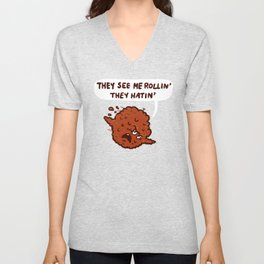They See Me Rollin' Unisex V-Neck