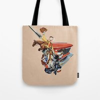 western Tote Bags featuring Western by Lerson
