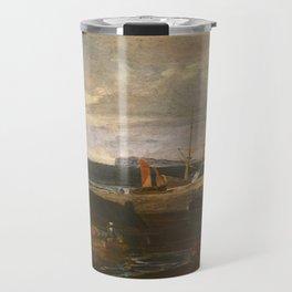"J.M.W. Turner ""A Scene On The English Coast"" Travel Mug"