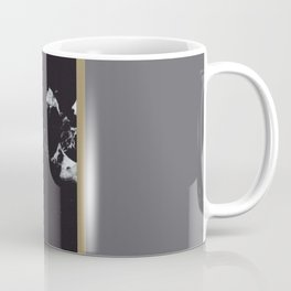 Marble Mix Stripes #1 #black #white #gray #gold #decor #art #society6 Coffee Mug