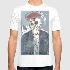William S. Burroughs Mens Fitted Tee White MEDIUM