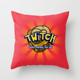 The Helix Giveth... Throw Pillow