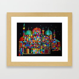 Temple for All Framed Art Print