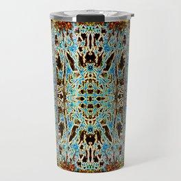 ABSTRACT ICICLES Travel Mug