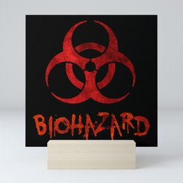 Biohazard Symbol One Mini Art Print