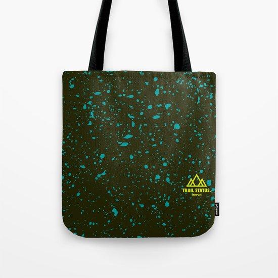 Trail Status / Green Tote Bag