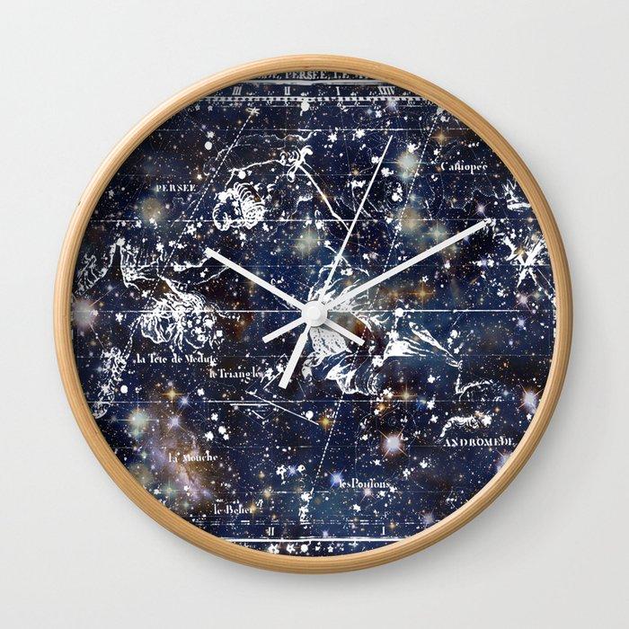 Celestial Charts Wall Clock By Piplulu Society6