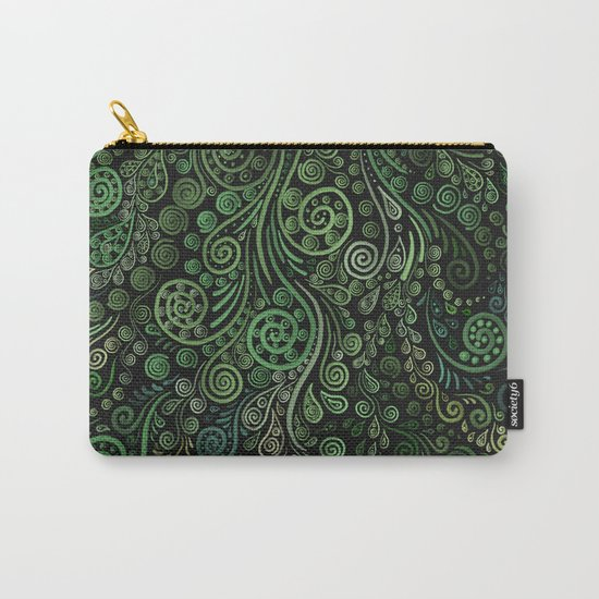 Fantasy Tree Greenery Carry-All Pouch
