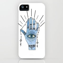 Boho vibes Hand iPhone Case