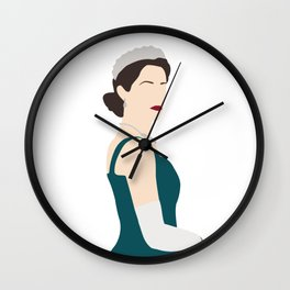 The Queen Elizabeth The Crown series Wall Clock