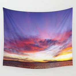 breathtaking sunset Wall Tapestry
