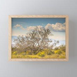 Tree Of Life 7299 Joshua Tree Framed Mini Art Print