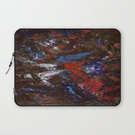 In Darkness Acrylic Abstract Laptop Sleeve
