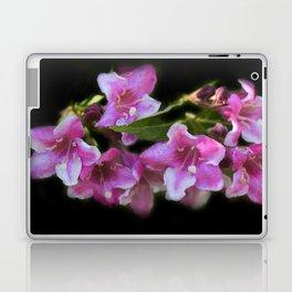 blossoms on black background -02- Laptop & iPad Skin