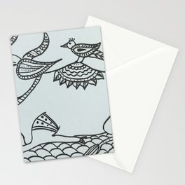Madhubani Cow Stationery Cards