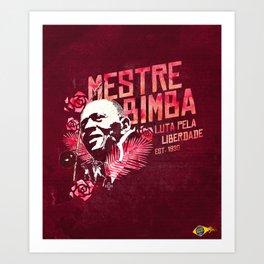 Mestre Bimba - CAPOEIRA RULES Art Print